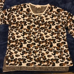 Animal print Size L Philosophy Sweater